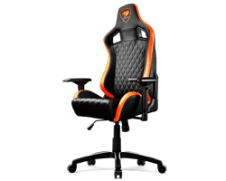 Кресло компьютерное Cougar ARMOR S Black-Orange