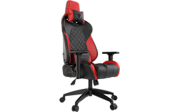Кресло компьютерное GAMDIAS HERCULES E1 Black-Red RGB