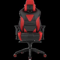 Кресло компьютерное GAMDIAS HERCULES M1 Black-Red AIR, RGB
