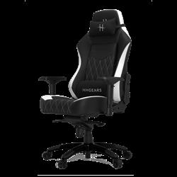 Игровое кресло HHGears XL800 (Black/White)