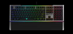 Игровая клавиатура ThunderX3 AK7, механическая игровая, свичи blue, с RGB подсветкой