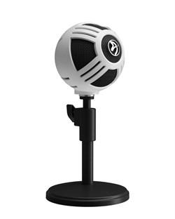 Микрофон для стримеров Arozzi Sfera Microphone - White - фото 12855