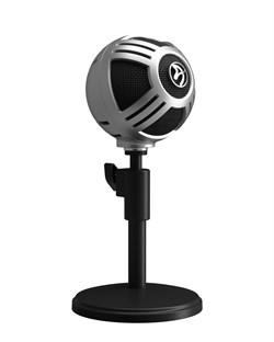 Микрофон для стримеров Arozzi Sfera Pro Microphone - Silver - фото 12858