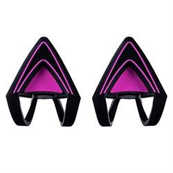 Насадки-ушки для наушников Razer Kitty Ears for Kraken (Neon Purple) - фото 13680