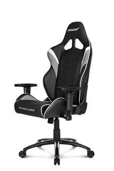 Игровое Кресло AKRacing OVERTUNE (OVERTURE-WHITE) black/white