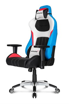 Игровое Кресло AKRacing PREMIUM (AK-7001-TRIO) black/white/blue/red
