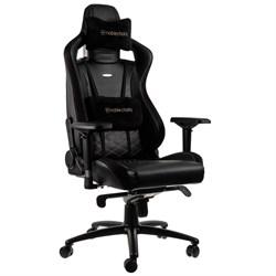 Игровое Кресло Noblechairs EPIC (NBL-PU-GOL-002) PU Leather / black/gold