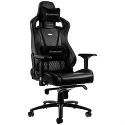 Игровое Кресло Noblechairs EPIC (NBL-RL-BLA-001) Real Leather / black