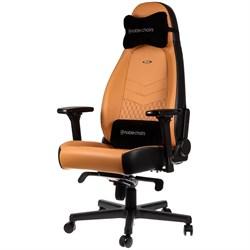 Игровое Кресло Noblechairs ICON (NBL-ICN-RL-CBK) Real Leather / cognac/black