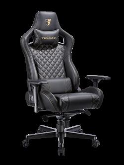Кресло компьютерное TESORO Zone X F750 Black [gold stitch]