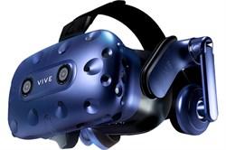 Очки виртуальной реальности HTC Vive Pro Full Kit, черный/синий - фото 15563