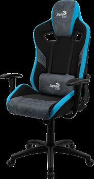 Игровое Кресло Aerocool COUNT Steel Blue - фото 15949