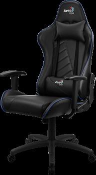 Игровое Кресло Aerocool AC110 AIR black/blue - фото 16062