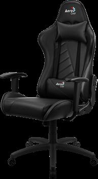 Игровое Кресло Aerocool AC110 AIR All black - фото 16084