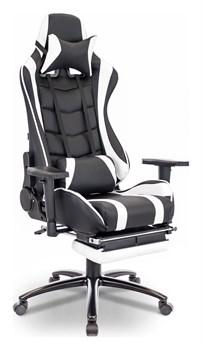 Игровое кресло Lotus S1 Черный, белый - фото 16108