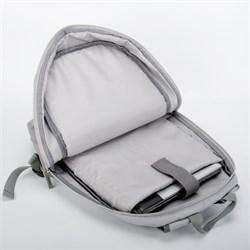 Рюкзак для ноутбука 15,6 дюйма SEASONS универсальный MSP014, серый - фото 16162