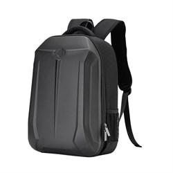 Рюкзак для ноутбука 15,6 дюйма SEASONS усиленный MSP4780 с прорзиненым жестким каркасом, черный - фото 16172