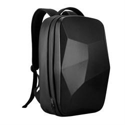 Рюкзак для ноутбука 15,6 дюйма SEASONS усиленный MSP4781 с прорзиненым жестким каркасом, черный - фото 16178