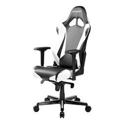 Компьютерное кресло DXRacer OH/RV001/NW Черный, белый - фото 16223