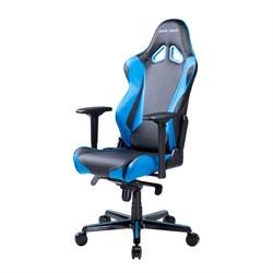 Компьютерное кресло DXRacer OH/RV001/NB Черный, синий - фото 16229