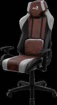 Игровое Кресло Aerocool BARON Burgundy Red - фото 16430