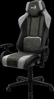 Игровое Кресло Aerocool BARON Hunter Green - фото 16439