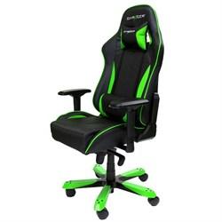 Компьютерное кресло DXRacer OH/KS57/NE Черный, зеленый - фото 16462