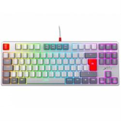 Игровая механическая клавиатура Xtrfy K4 RGB Tenkeyless RETRO Edition - фото 16468