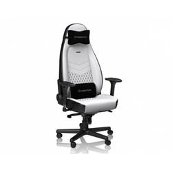 Игровое Кресло Noblechairs ICON (NBL-ICN-PU-WBK) PU Leather / white/black - фото 16591