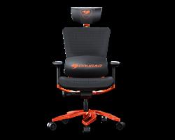 Кресло компьютерное игровое Cougar ARGO Black-Orange - фото 16648