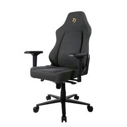 Компьютерное кресло (для геймеров) Arozzi Primo Woven Fabric Black-Gold - фото 16698