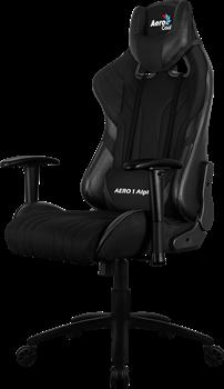 Игровое Кресло Aerocool AERO 1 Alpha All black - фото 16703