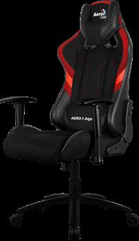 Игровое Кресло Aerocool AERO 1 Alpha black/red - фото 16725