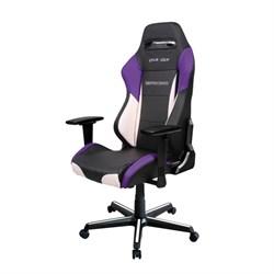 Компьютерное кресло DXRacer OH/DM61/NWV Черный, белый, фиолетовый - фото 16805