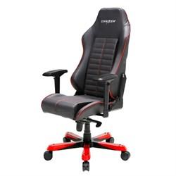 Компьютерное кресло DXRacer OH/IS188/NR Черный, красный, натуральная кожа - фото 17240