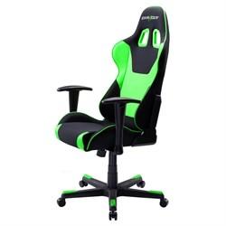 Компьютерное кресло DXRacer OH/FD101/NE Черный, зеленый, текстиль + экокожа - фото 17285