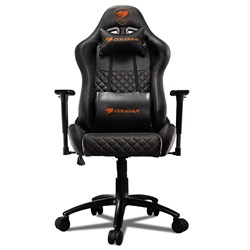 Кресло компьютерное игровое Cougar RAMPART black - фото 17628