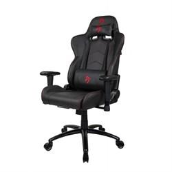 Компьютерное кресло (для геймеров) Arozzi Inizio Black PU - Red logo - фото 18544