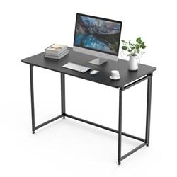 Складной письменный стол (для компьютера) EUREKA ERK-FT-43B с шириной 109 см, Черный - фото 18643