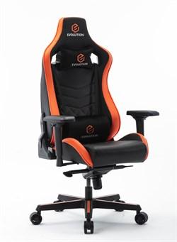 Компьютерное игровое кресло EVOLUTION AVATAR Черный, оранжевый - фото 18829