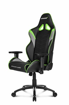 Игровое Кресло AKRacing OVERTUNE (OVERTURE-GREEN) black/green