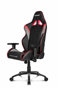 Игровое Кресло AKRacing OVERTUNE (OVERTURE-RED) black/red