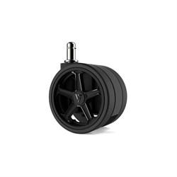 """Колеса для игровых кресел Vertagear 65 мм/2.5"""" АвтоБлок (Black) 1 set (5 шт)"""