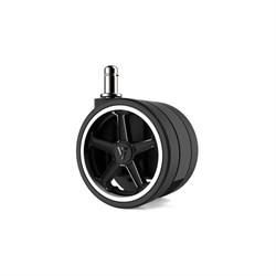 """Колеса для игровых кресел Vertagear 65 мм/2.5"""" АвтоБлок (White) 1 set (5 шт)"""