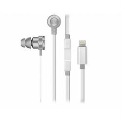 Гарнитура Razer Hammerhead for iOS, Mercury (Apple Lightning Connector)