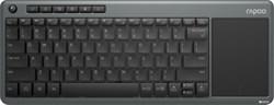 Клавиатура беспроводная с тачпадом Rapoo K2600, Grey