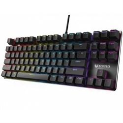 Клавиатура игровая Rapoo V500RGB Alloy (Blue Switch), механическая