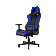 Игровое кресло ThunderX3 TGC22 сине-черное