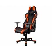 Игровое кресло ThunderX3 TGC22 оранжево-черное