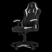 Игровое кресло HHGears SM115 (Black/White)